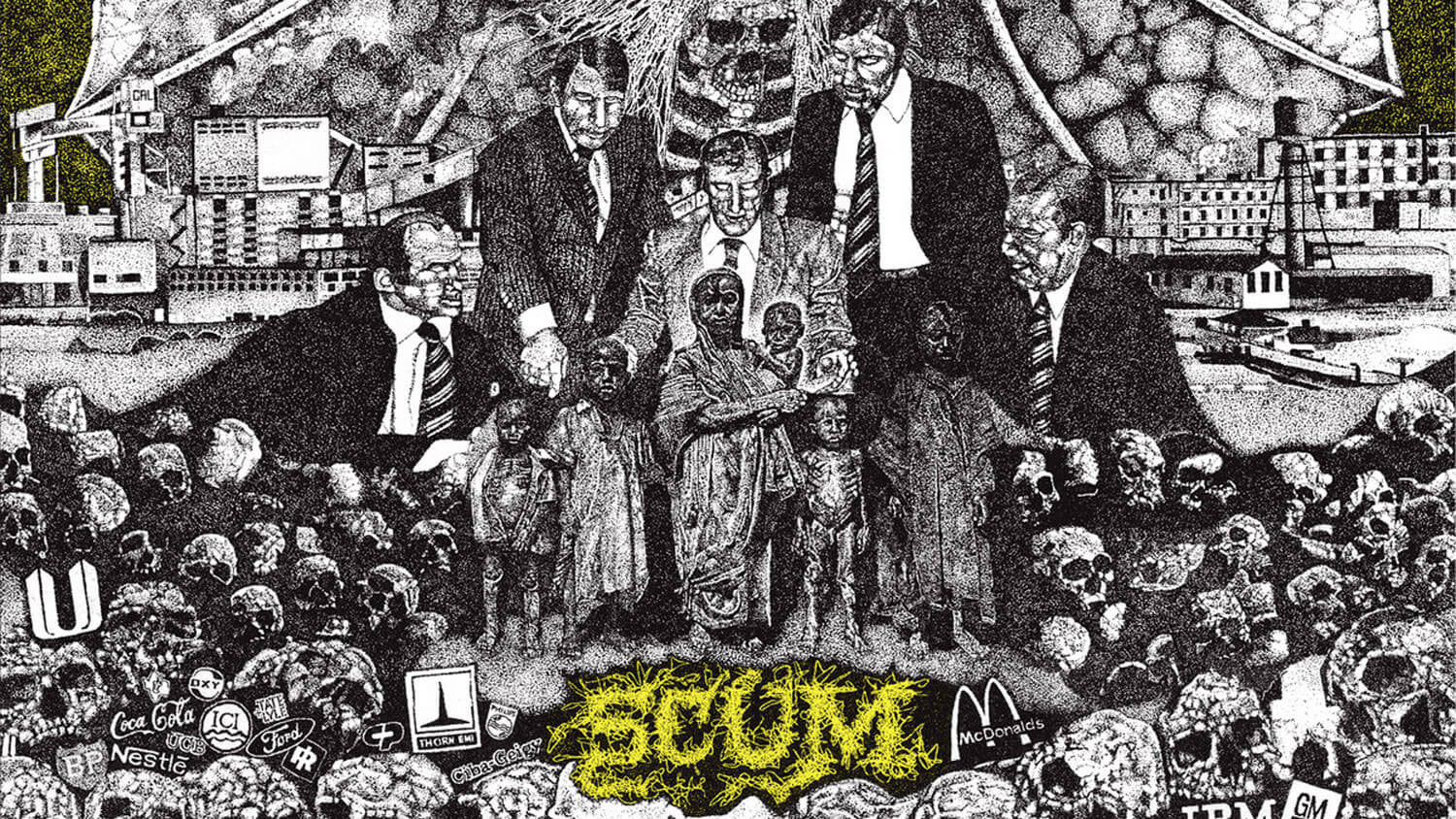 30 Years Ago: NAPALM DEATH record the second half of Scum ...