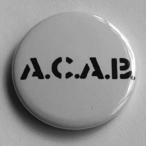 4-Skins - A.C.A.B. (Black) (Badge)