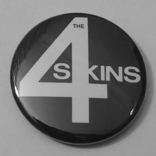 The 4-Skins - White Logo (Badge)