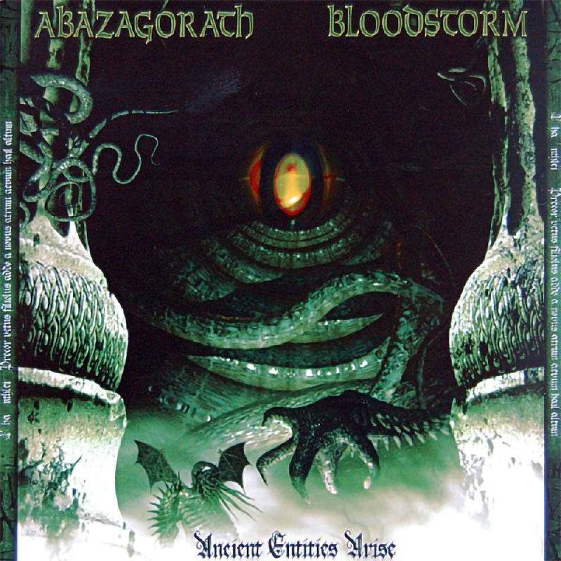 Abazagorath / Blood Storm - Ancient Entities Arise (CD)
