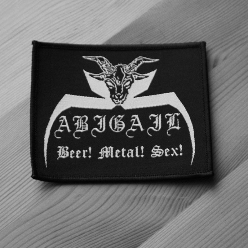 Abigail - Beer Metal Sex (Woven Patch)
