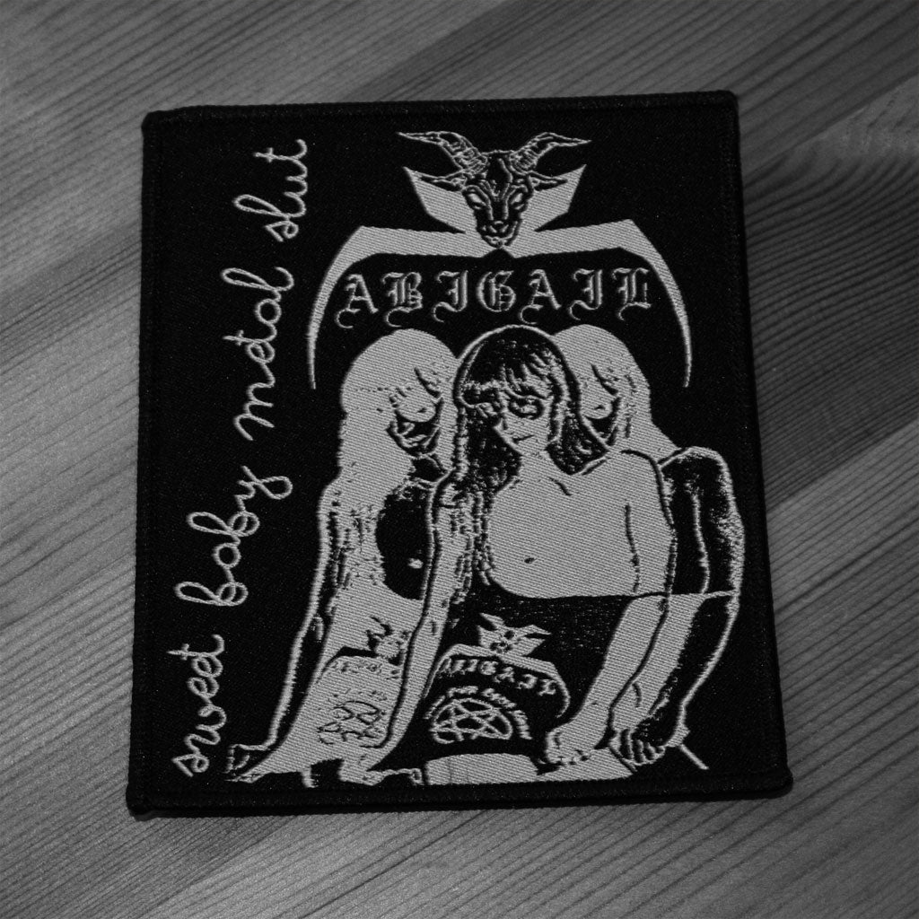Abigail - Sweet Baby Metal Slut (Woven Patch)