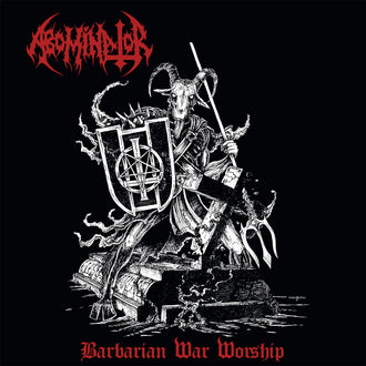 Abominator - Barbarian War Worship (CD)