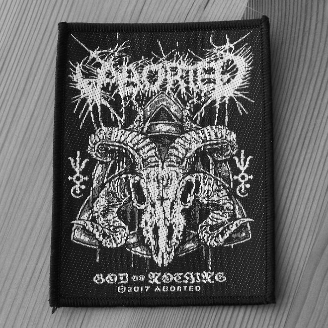 Aborted - God of Nothing (Woven Patch)