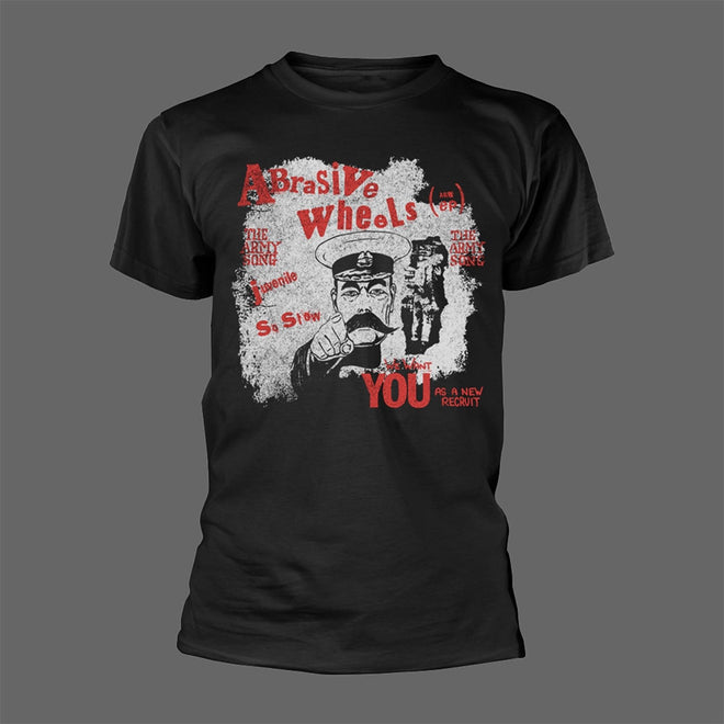 Abrasive Wheels - Army Song (Black) (T-Shirt)