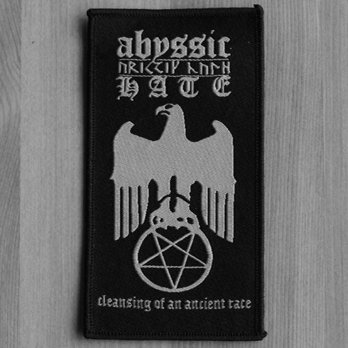 Abyssic Hate - Cleansing of an Ancient Race (Woven Patch)