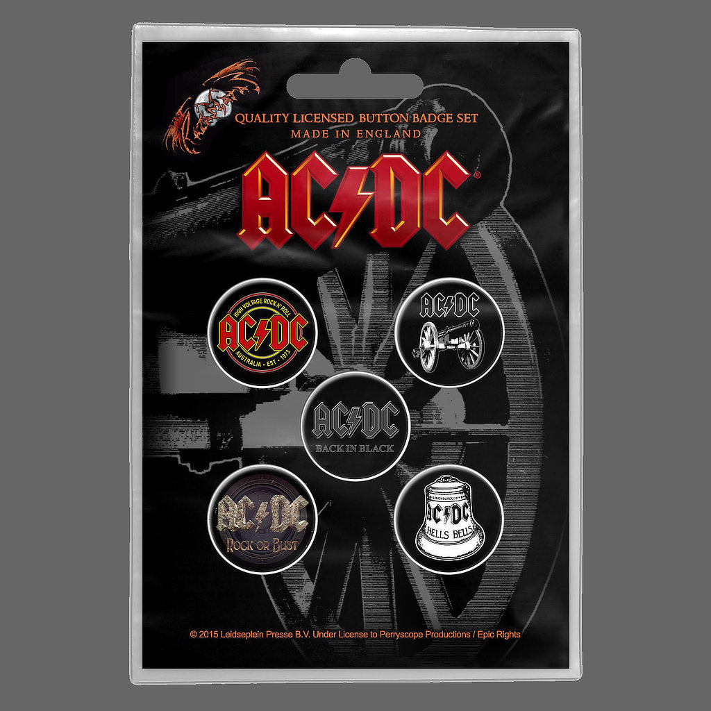 AC/DC - For Those About to Rock (Badge Pack)