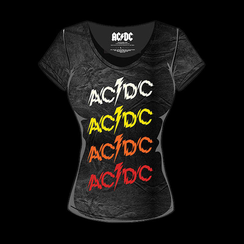 AC/DC - Logo (Powerage) (Women's T-Shirt)