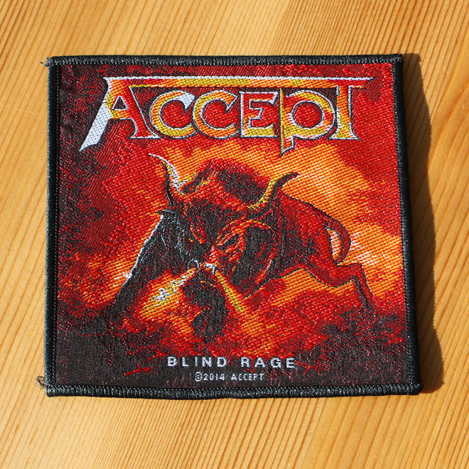 Accept - Blind Rage (Woven Patch)