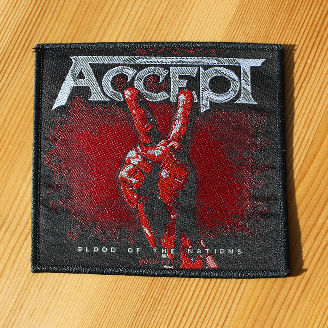 Accept - Blood of the Nations (Woven Patch)