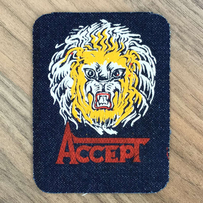 Accept - Lion (Printed Patch)