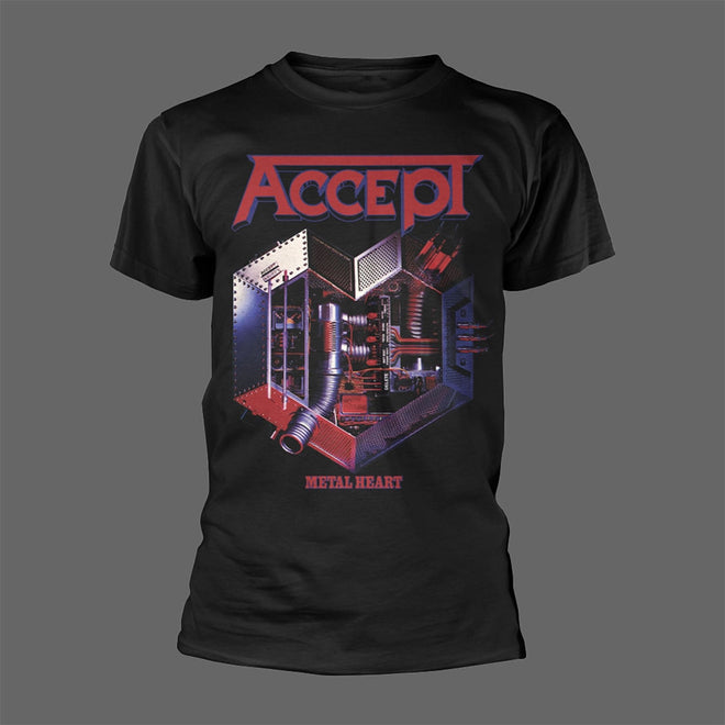 Accept - Metal Heart (Black) (T-Shirt)