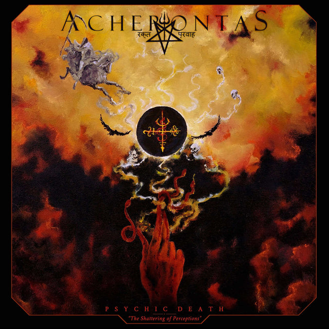 Acherontas - Psychic Death: The Shattering of Perceptions (CD)