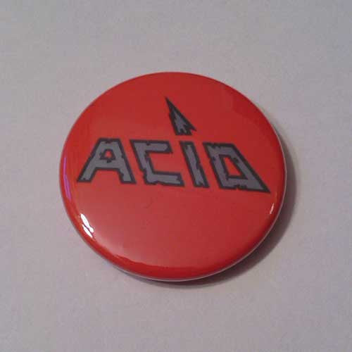 Acid - Silver Logo (Badge)