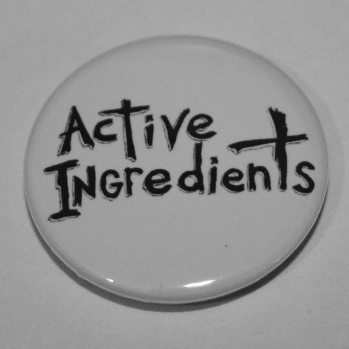 Active Ingredients - Black Logo (Badge)