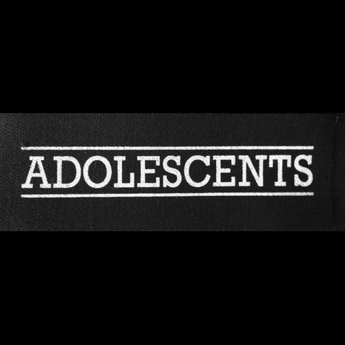 Adolescents - White Logo (Printed Patch)