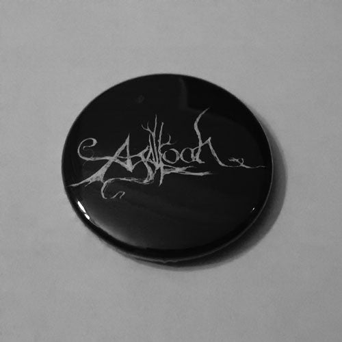Agalloch - White Logo (Badge)