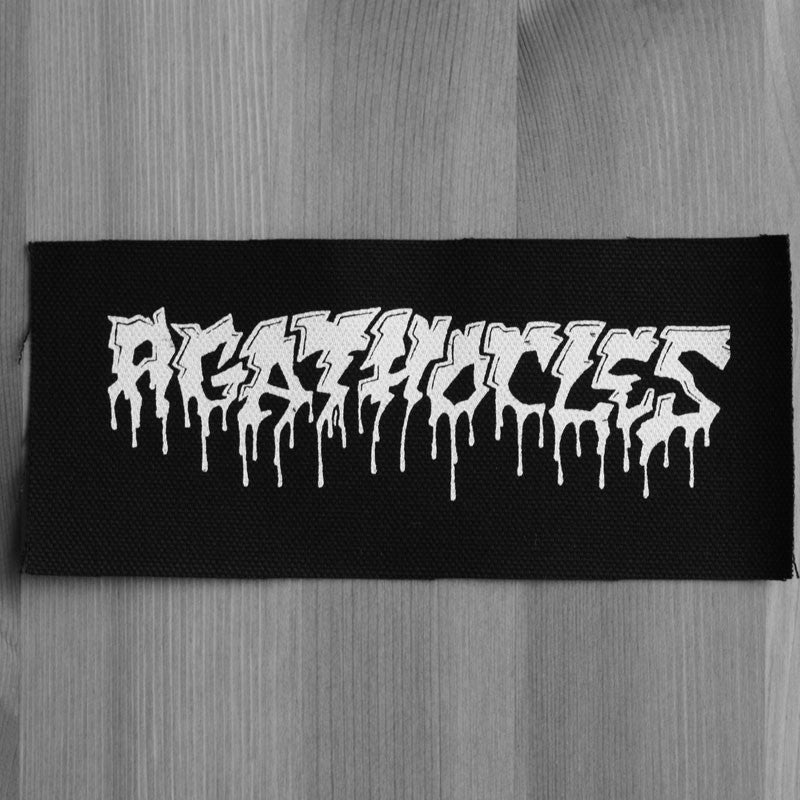 Agathocles - White Logo (Printed Patch)