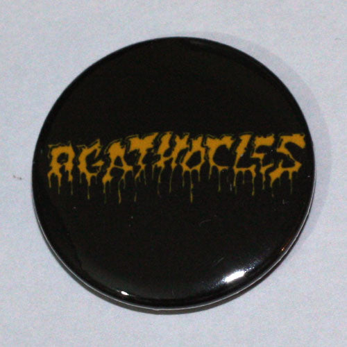 Agathocles - Yellow Logo (Badge)