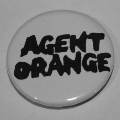 Agent Orange - Black Logo (Badge)