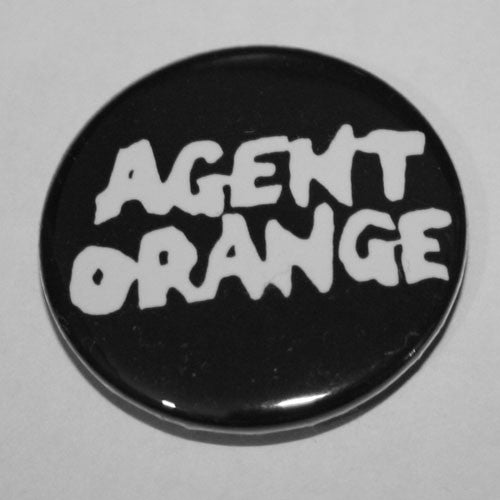 Agent Orange - White Logo (Badge)