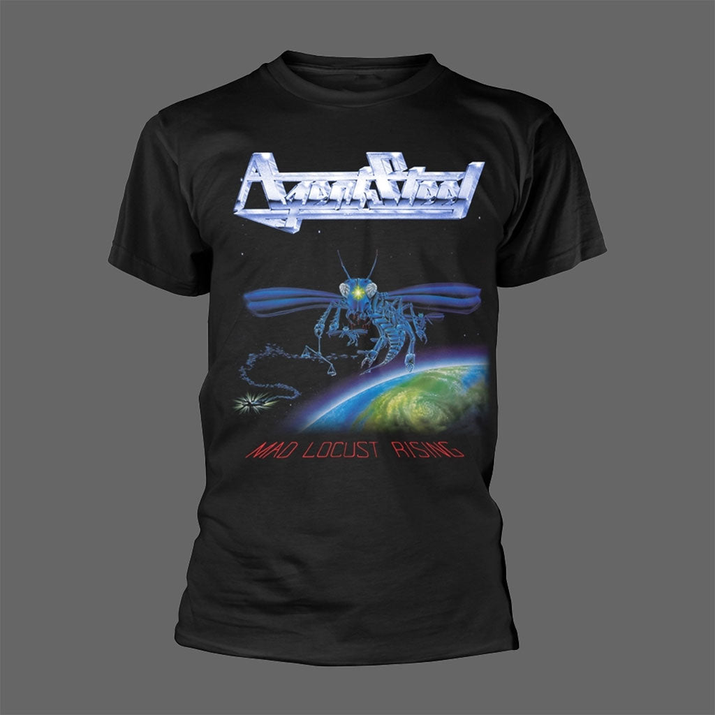 Agent Steel - Mad Locust Rising (T-Shirt)