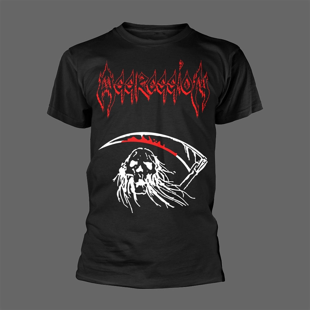 Aggression - By the Reaping Hook (T-Shirt)