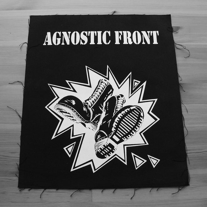 Agnostic Front - Logo / Boots (Backpatch)