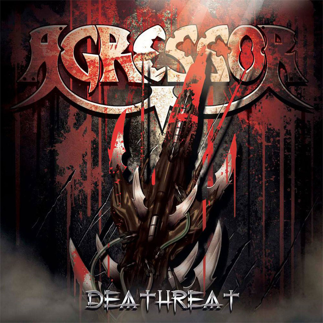 Agressor - Deathreat (CD + DVD)