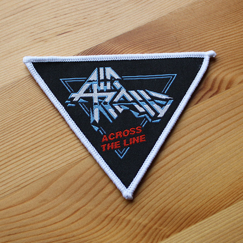 Air Raid - Across the Line (White Border) (Woven Patch)