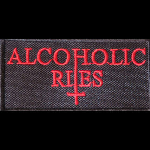 Alcoholic Rites - Red Logo (Embroidered Patch)