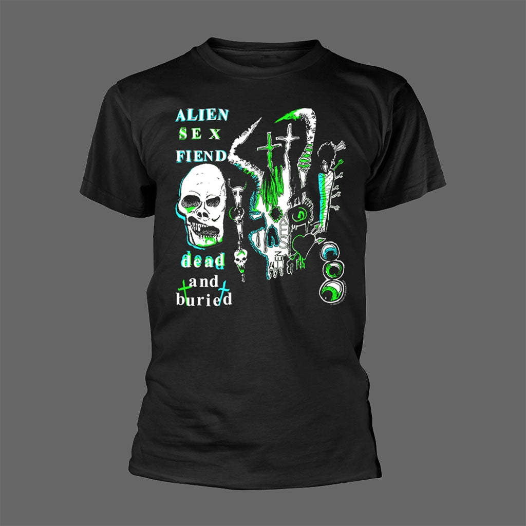 Alien Sex Fiend - Dead and Buried (T-Shirt)
