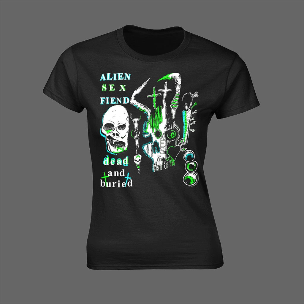 Alien Sex Fiend - Dead and Buried (Women's T-Shirt)
