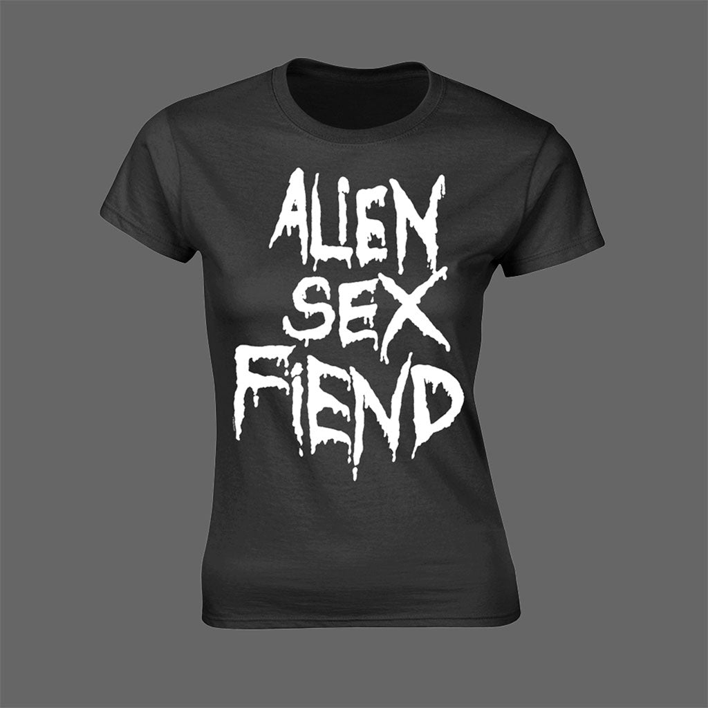 Alien Sex Fiend - Logo (Women's T-Shirt)