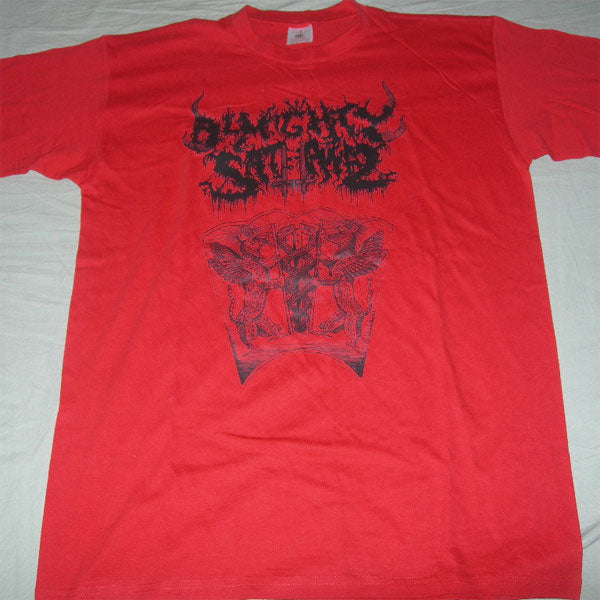 Almighty Sathanas - Logo (Red) (T-Shirt)