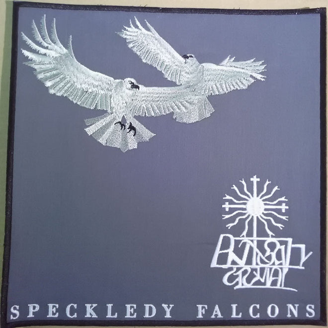 Altar Shadows - Speckledy Falcons (Backpatch)