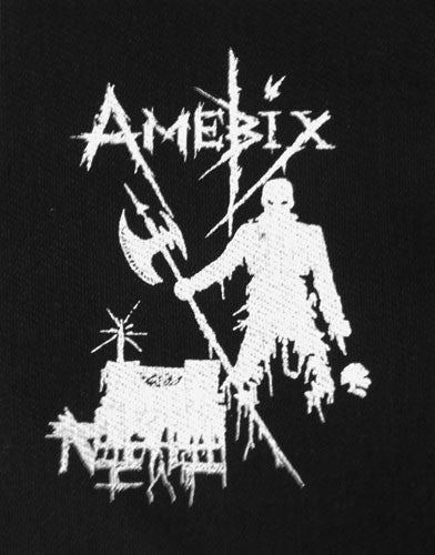 Amebix - Logo / Axeman (Printed Patch)