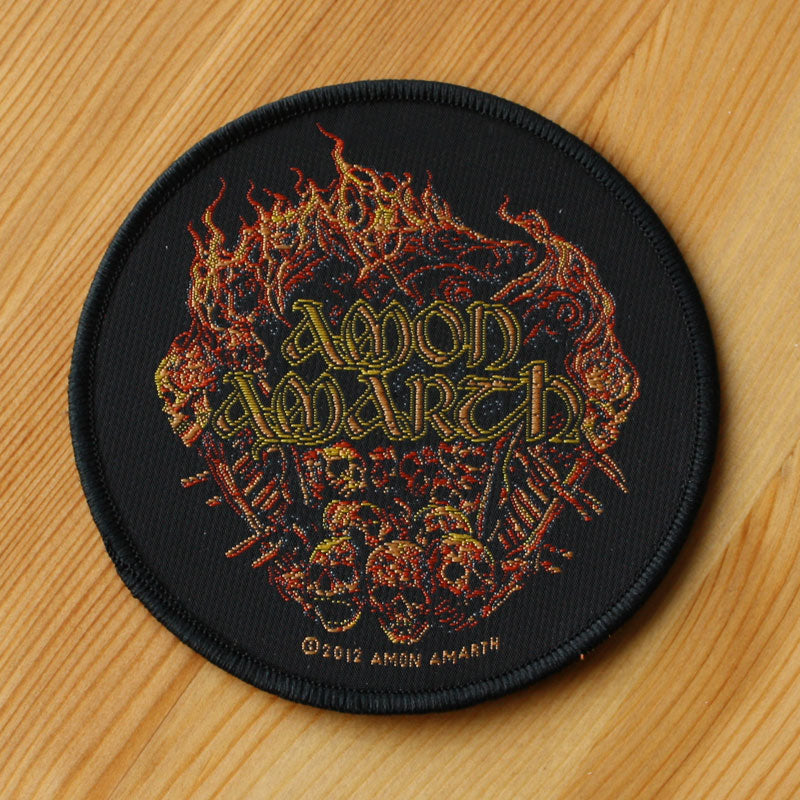 Amon Amarth - Battlefield (Woven Patch)