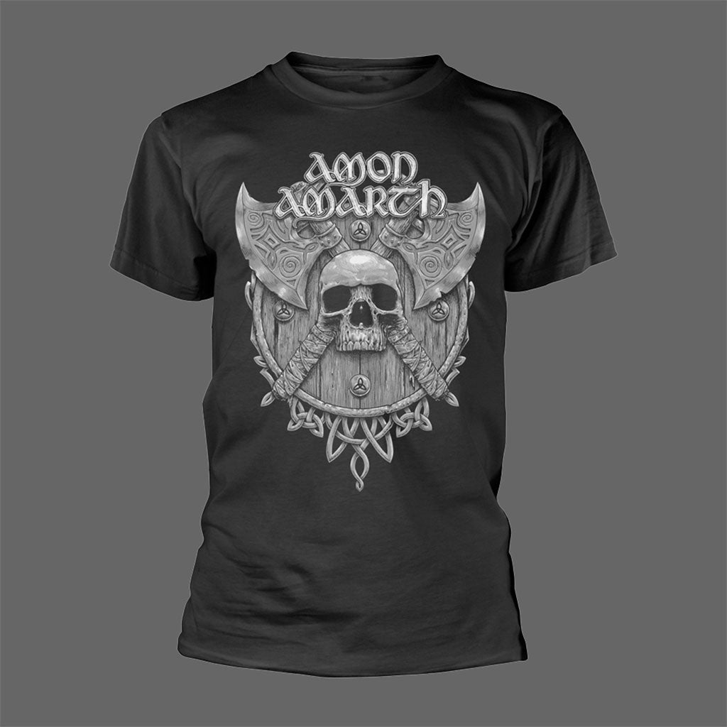 Amon Amarth - Grey Skull (T-Shirt)