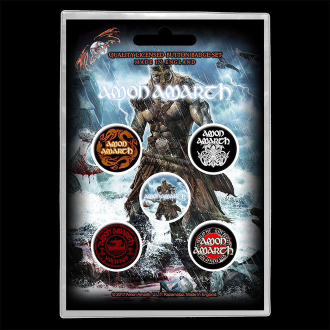 Amon Amarth - Jomsviking (Badge Pack)