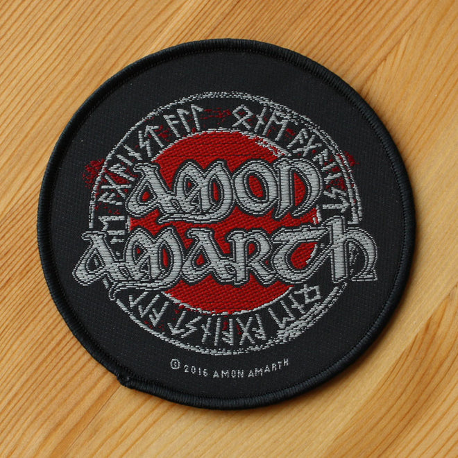 Amon Amarth - Logo & Runes (Woven Patch)
