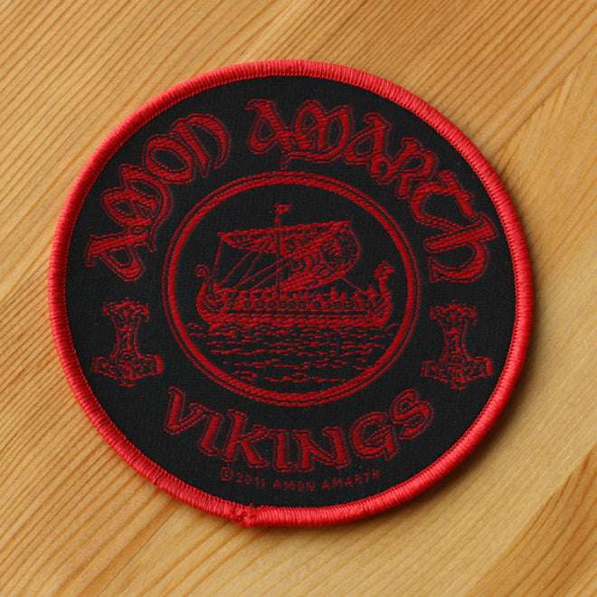 Amon Amarth - Vikings (Woven Patch)