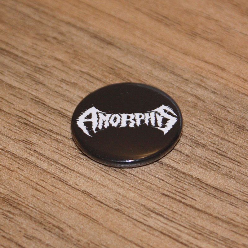 Amorphis - White Logo (Badge)
