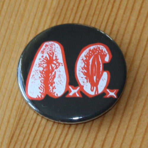 Anal Cunt - Red and White Logo (Badge)
