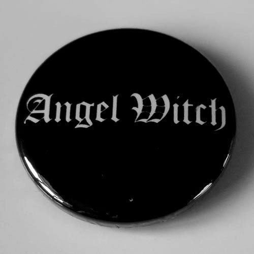 Angel Witch - White Logo (Badge)