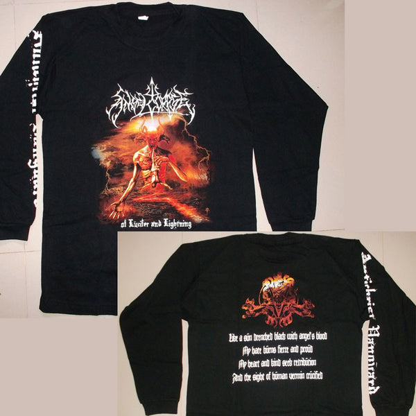 Angelcorpse - Of Lucifer and Lightning (Long Sleeve T-Shirt)