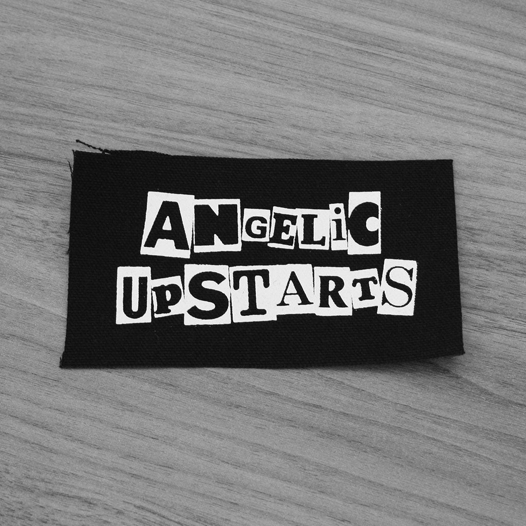 Angelic Upstarts - Logo (Printed Patch)