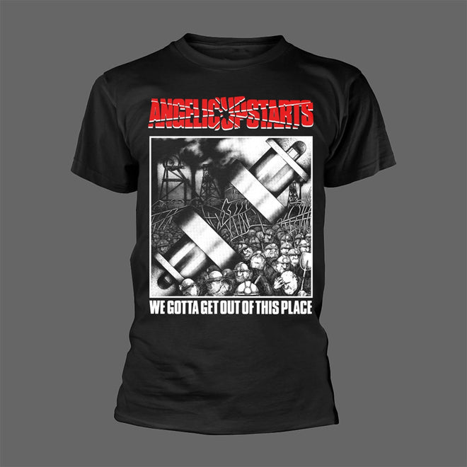 Angelic Upstarts - We Gotta Get Out of This Place (T-Shirt)