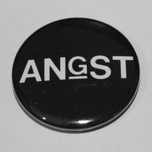 Angst (US) - White Logo (Badge)