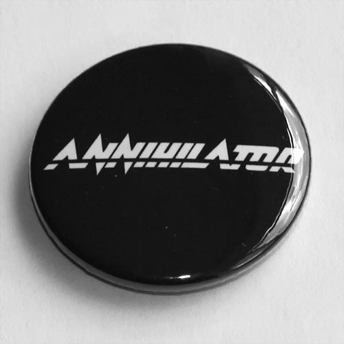 Annihilator - White Logo (Badge)